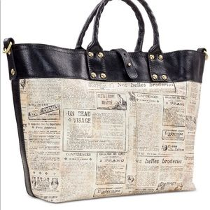 PATRICIA Nash Newspaper Tote Print Collection new